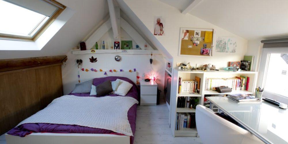 chambre à coucher adolescente