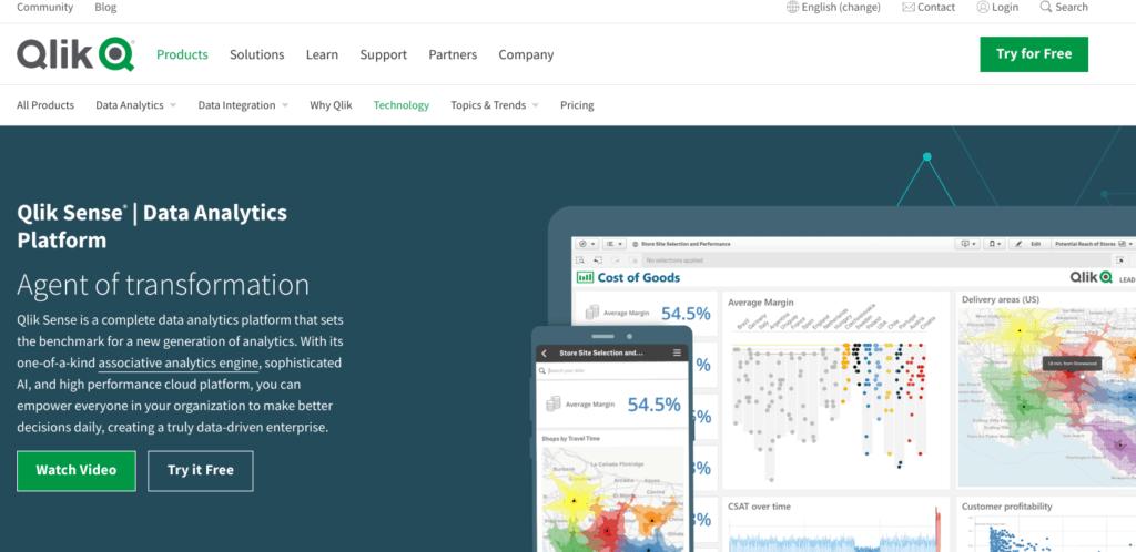 Listes d'outils de business intelligence :