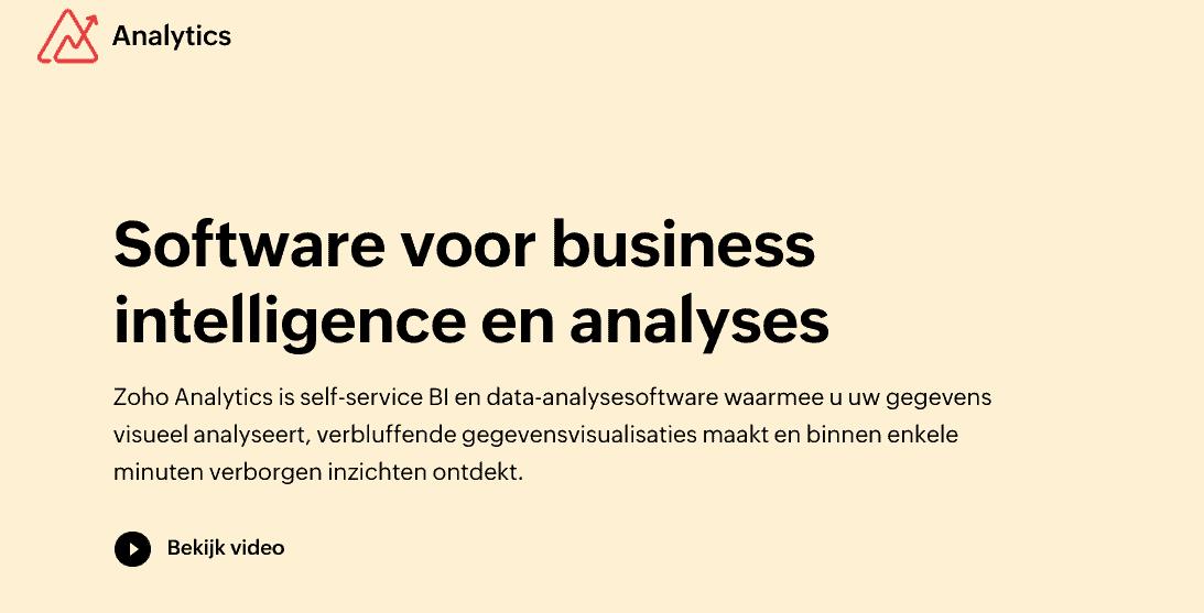Listes d'outils de business intelligence