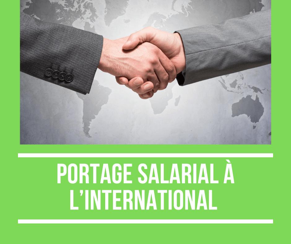 portage salarial international